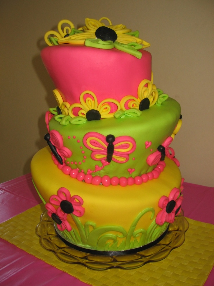 cute cake idea for a teenage girl | Birthday Cakes | Pinterest