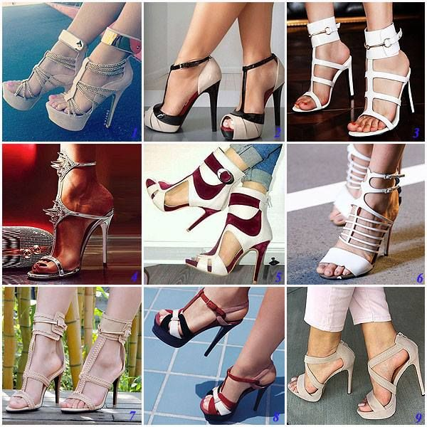 Nancy Jayjii stiletto leather women shoes high heel sandal #NancyJayjii #Heelsandal #Leatherwomenshoes