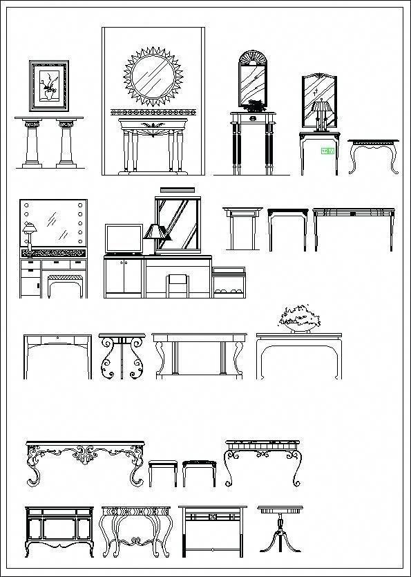 Simbologia Y Representacion Arquitectonica Bloques En Planta