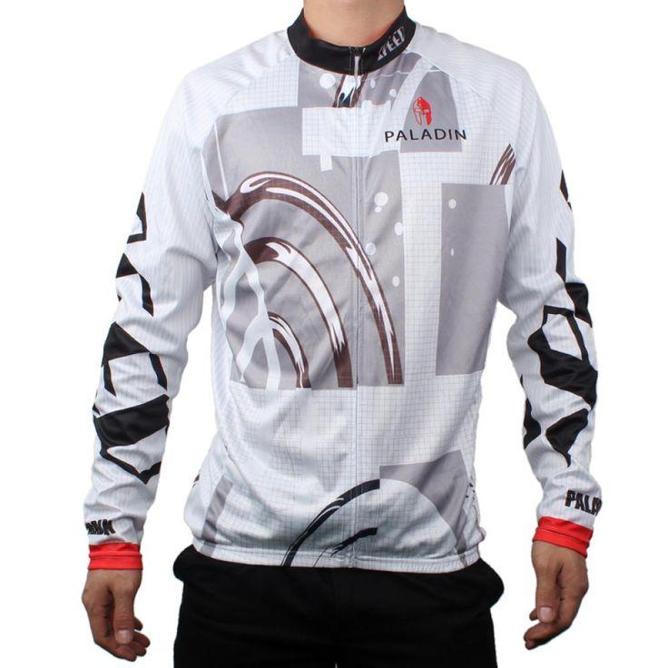 Paladinsport圣骑骑行服原创自行车骑行服速度与激情 白色+多色(L)  USD $15.99