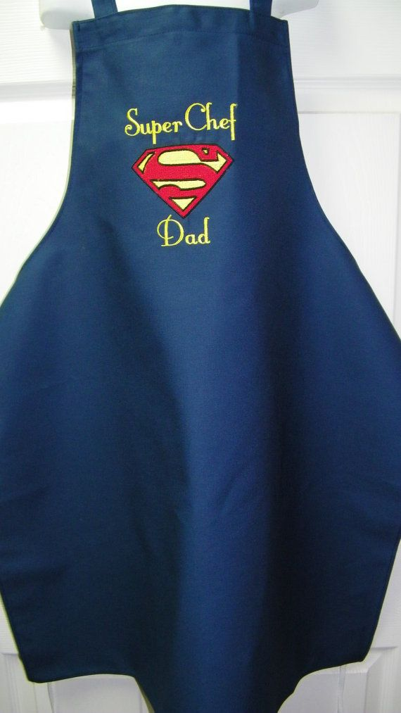 Christmas present for Dad!  Custom+Embroidered+DC+Comics+SUPERMAN+Super+by+mrsstitchsboutique,+$29.99