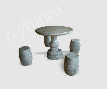 Knidos - stolik kamienny