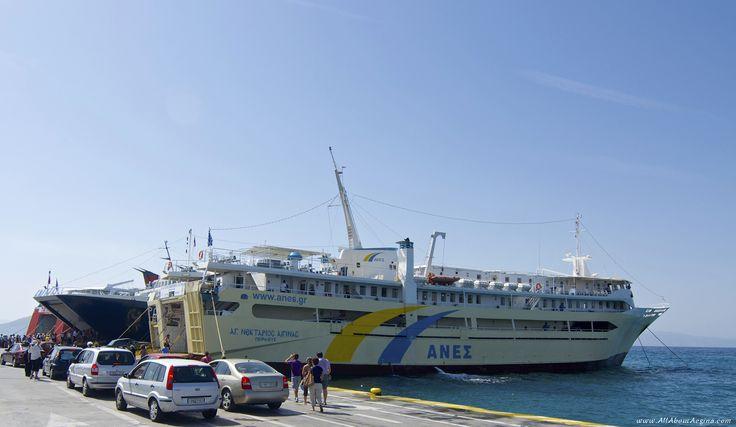 Aegina Ferries, Aegina