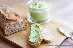 Limetten-Parmesan-Butter (auf Baguette überbacken)