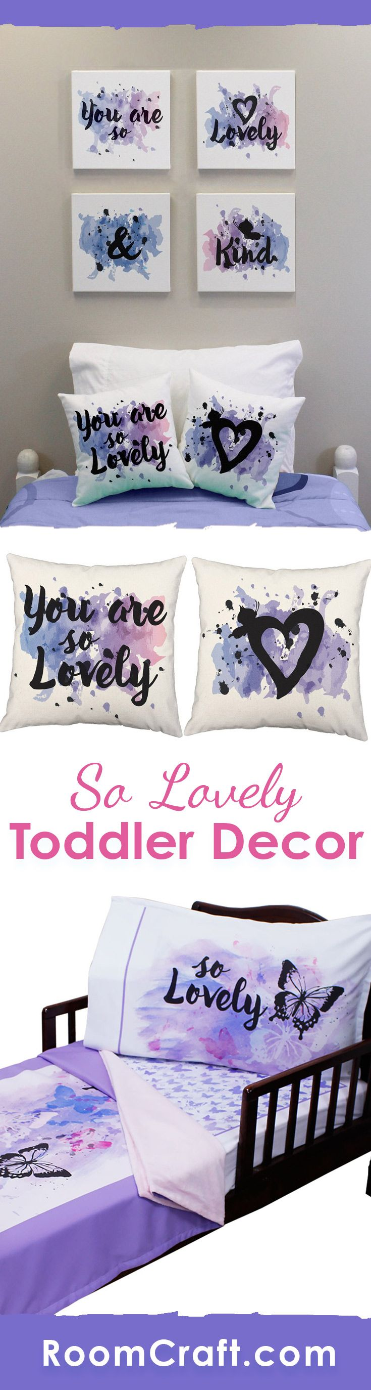 oh so lovely toddler bedding set