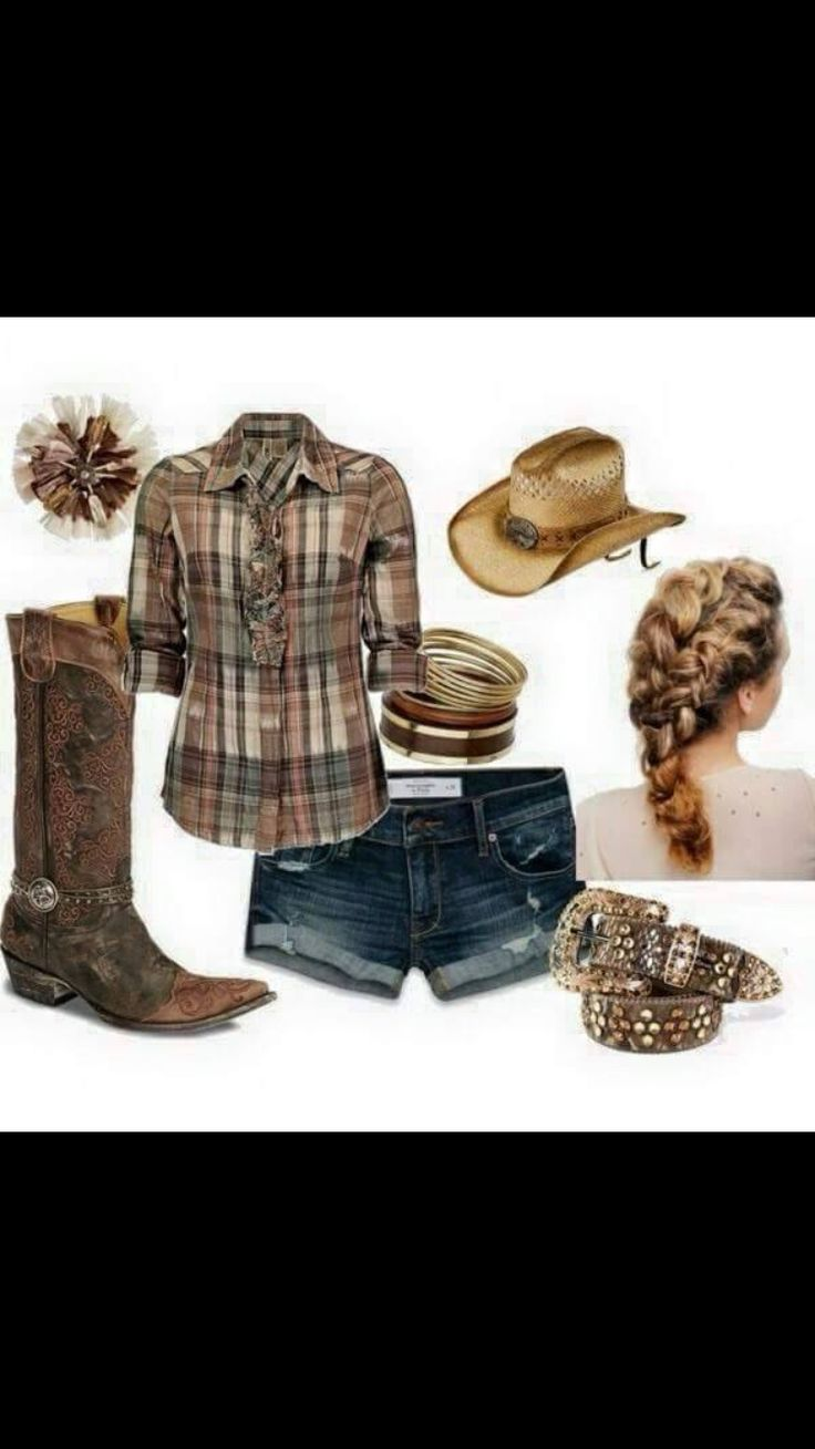 Country girl outfit :)