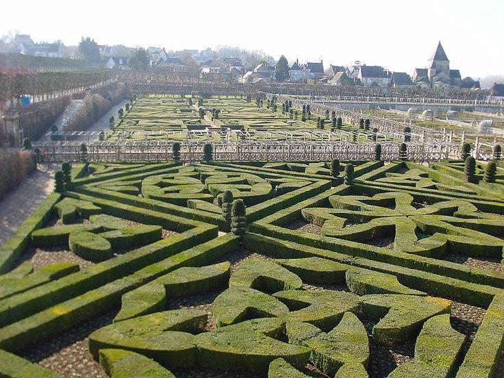 Villandry, gardens, France