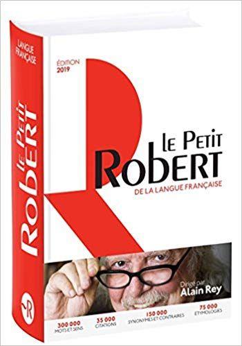 Le Petit Robert De La Langue Française 2019 Download Pdf E Epub Lingua Francese Libri Copertina