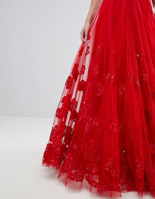 ce6f7e0004e A Star Is Born Maxi Prom Dress with Embellishment and Embroidery