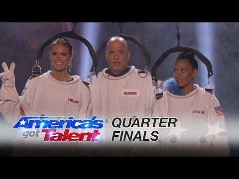 The Passing Zone: Jon and Owen Juggle the AGT Judges - America's Got Talent 2016 - YouTube