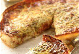 Uno's Cheese and Tomato Deep Dish Pizza Recipe - Recipe Kitchen
