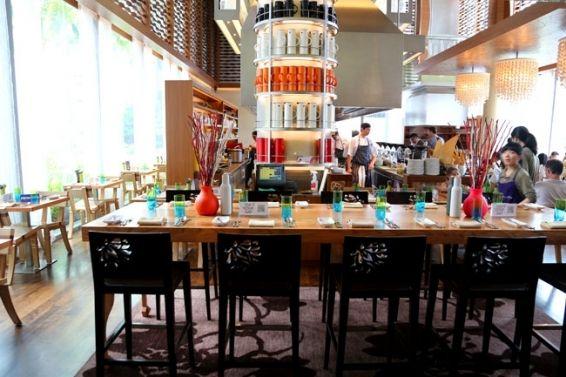 W Hotel Kitchen Table Buffet Singapore Hotel Kitchen Buffet Restaurant Hotel Buffet