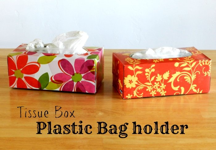 Love this idea for storing plastic bags!  Plastic Bag Holders via growcreative.blogspot.com
