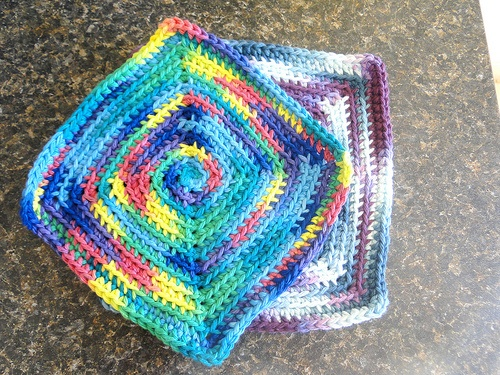 Crochet In Back Loop : ... the look of the back loop crochet Knits spins and crochet Pi