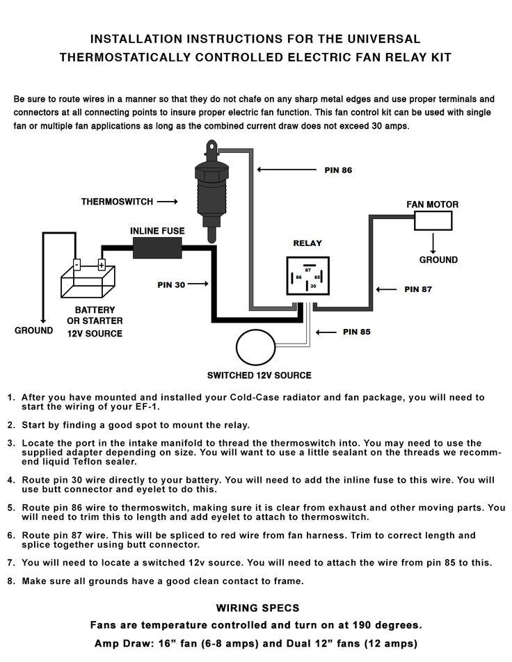 45 Best Of Dual Fan Relay Wiring Diagram