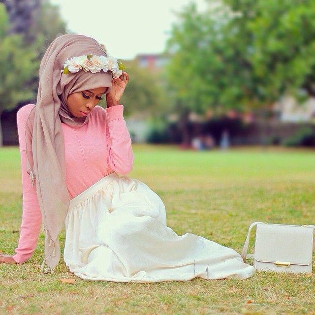 Basma_K ♥ Muslimah fashion & hijab style