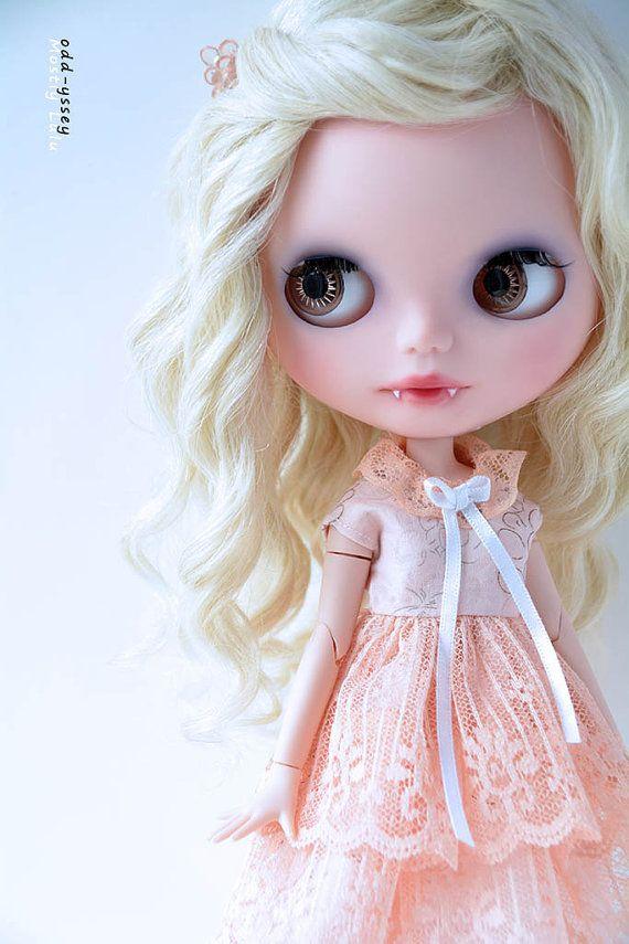 blythe summer doll | Hold for Kylie: OOAK Basaak Custom Art Doll (Blythe Clone) - Tabitha