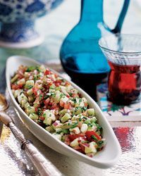 Traditional Turkish Chopped Salad Recipe