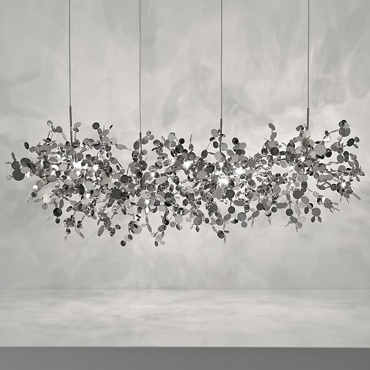 Argent Linear Suspension by Terzani   Visit www.modernfloorlamps.net for more inspiring images and decor inspirations