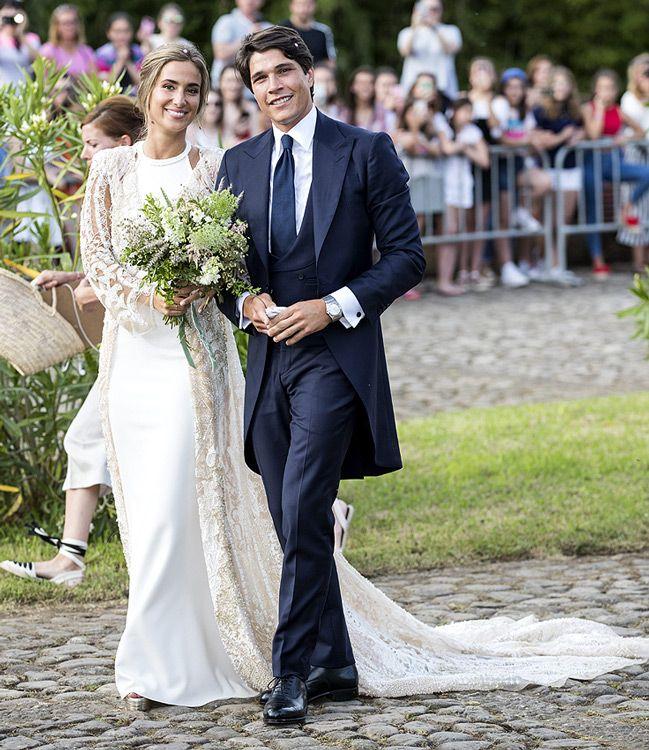 mariage de María Pombo