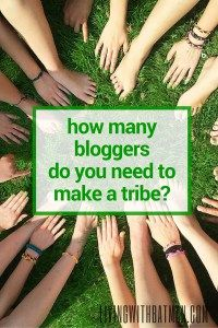 Blogging can be a lonely world. Joining or forming your own blogging tribe can raise your game and give you a sense of belonging but how many bloggers do you need to make a tribe? What should you look for? Come find your blogging buddy.