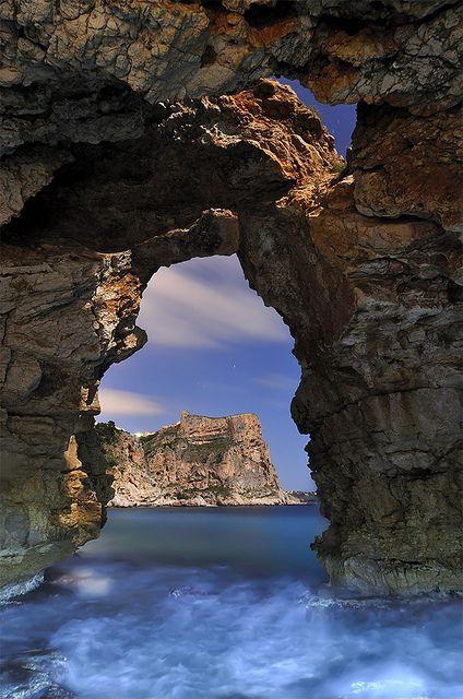 OMG kelsey I want to see this! !!!Cueva de los Arcs, Valencia Spain