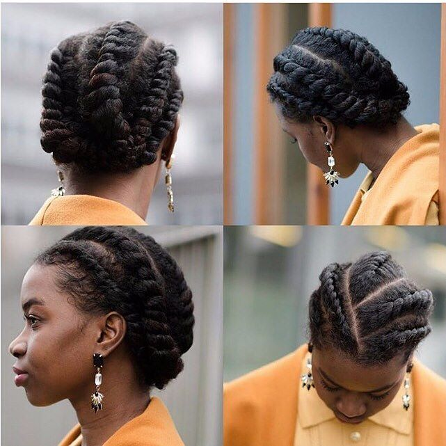 How To Style Natural Hair Interesting 11 Best Protective Style Inspirationnatural Hair Daily Images On