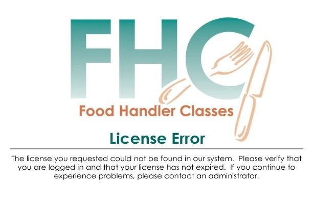 Food Handler Classes | City of Fort Worth, Texas | Our Fee: $9.00 | Online Certification, Permit, License, Certificate, Card, Training | Print License