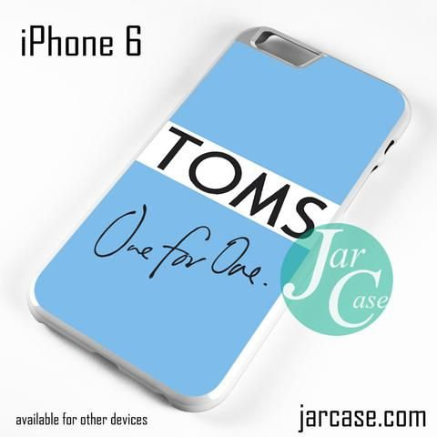 Toms One For One - iphone case - iphone 6 case - JARCASE