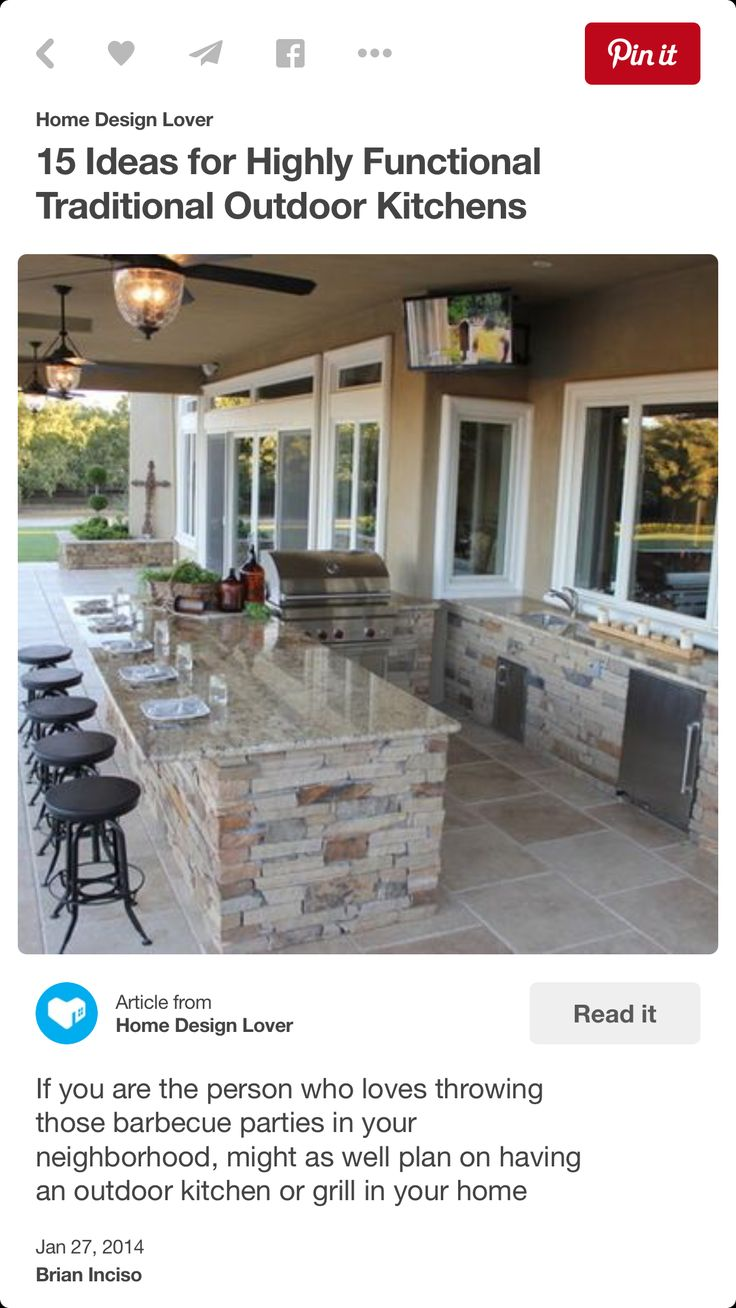 Dream outdoor eating option (but have different chairs)