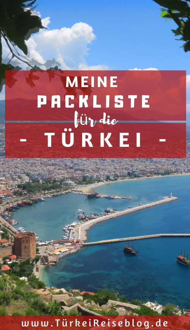 Die Ultimative Packliste Fur Deinen Turkei Urlaub Deinen Die