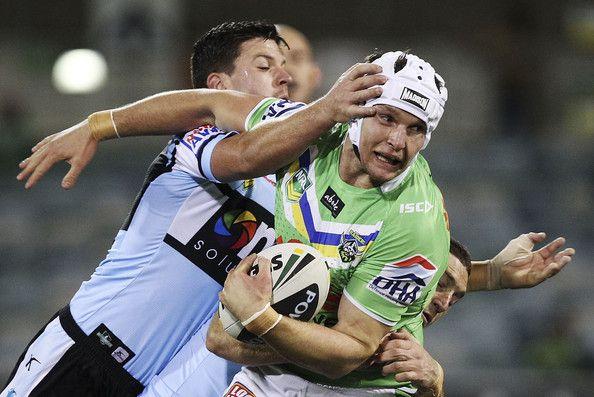 2013 Round 26 Canberra Raiders V Sharks: Jarrod Croker