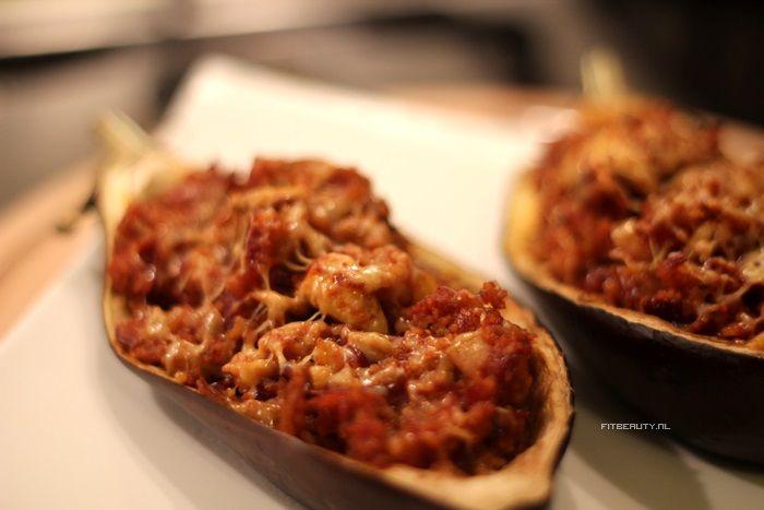 Recept: Gevulde Aubergine (vegetarisch)