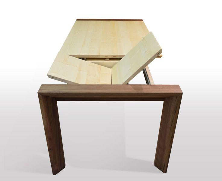 Ausziehbarer Esstisch, Nussbaum, Holz, Rund Ums Haus, Runde, Kaufen, Ideen,  Wood, Buy