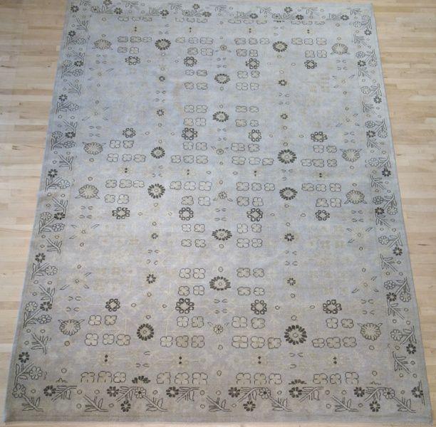 9x11 9 Chinese Handspun Wool $2100