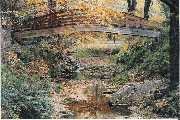 Bridge at Fall over creek