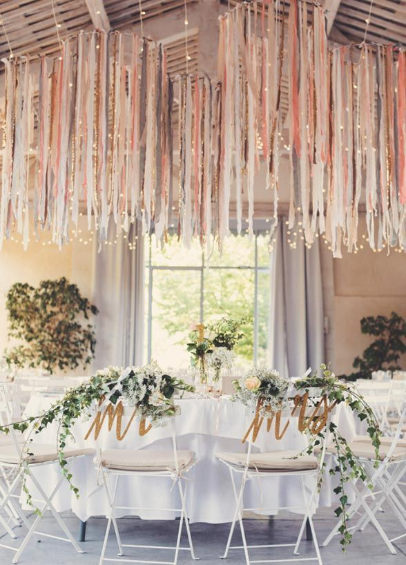 Wedding garlands that will make you forget about flowers.
