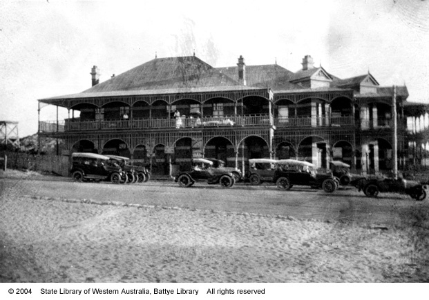 Ocean Beach Hotel, Cottesloe, Western Australia1920 - OBH! Much of my history was spent here, too.