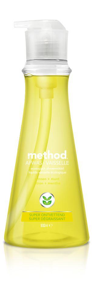 afwasmiddel citroen + munt - method Nederland