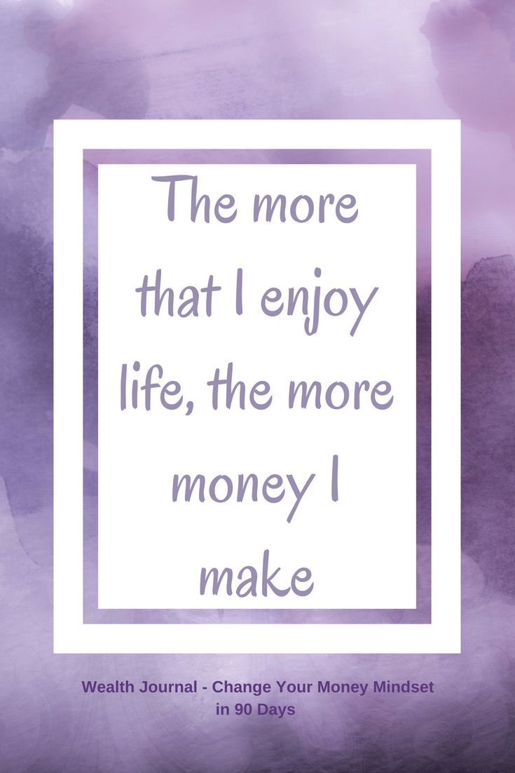 #12 Wealth affirmation to help you change your money mindset which will help you manifest more abundance using the Law of Attraction. Use the affirmation and see what it brings up for you, then work on eliminating any limiting beliefs. From the Wealth Journal: Change Your Money Mindset in 90 Days ~ available on Lulu, Amazon & Etsy