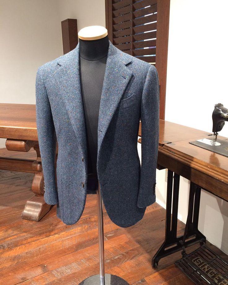 Vintage tweed jacket. #sartoria #sumisura #vintagetweed #sartodomenica #raffaniello