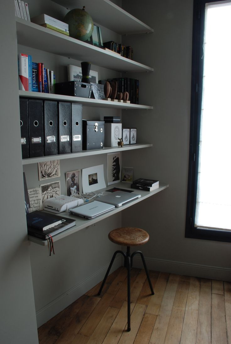 17 best images about office shelves on pinterest office for Functional home office