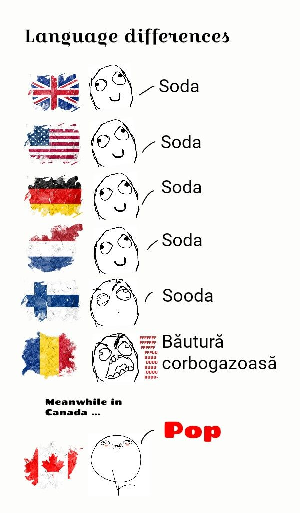 In England we call them fuzzy drinks, I don't know many people who call it soda