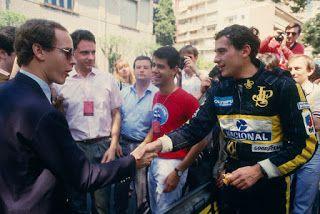 Ayrton Senna: Ayrton Senna Fotos / Albert II de Mônaco (Príncipe Albert de Mônaco) e Rainier III de Mônaco (Príncipe Rainier de Mônaco)