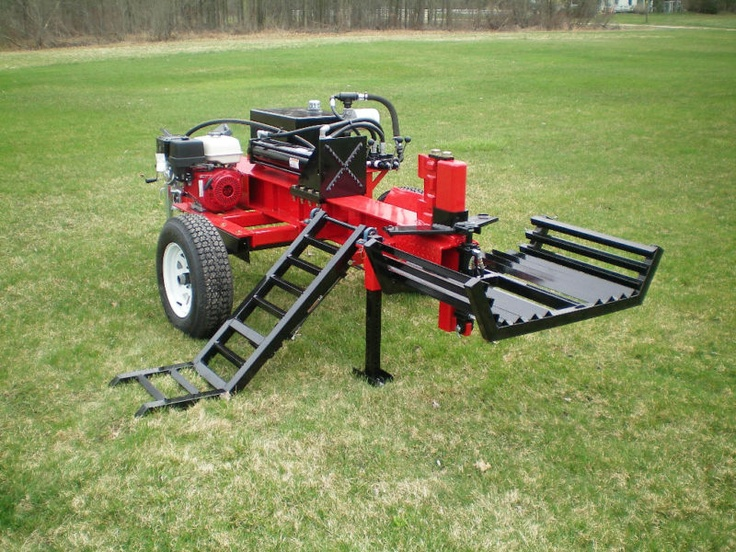 Wood Splitter With Lift : Best images about wood splitting on pinterest