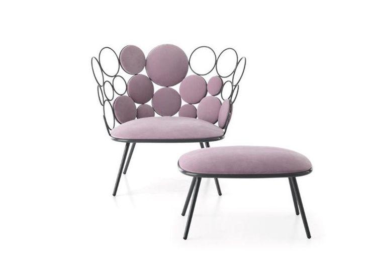 GRACE Petit fauteuil Collection Grace by Saba Italia design Paolo Grasselli