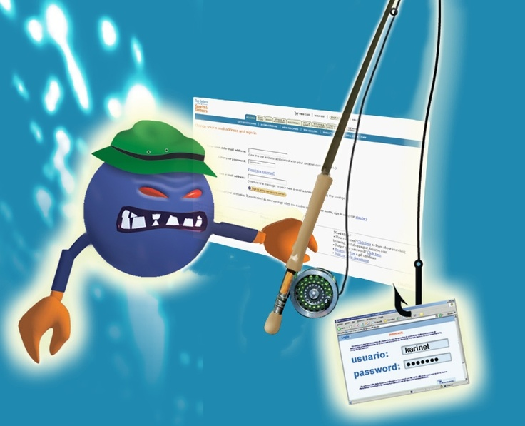 Do you know what phishing is?  http://www.pandasecurity.com/homeusers/security-info/cybercrime/phishing/