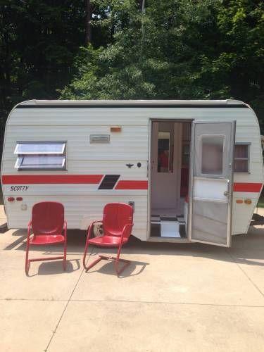 1982 Serro Scotty 14 foot travel trailer