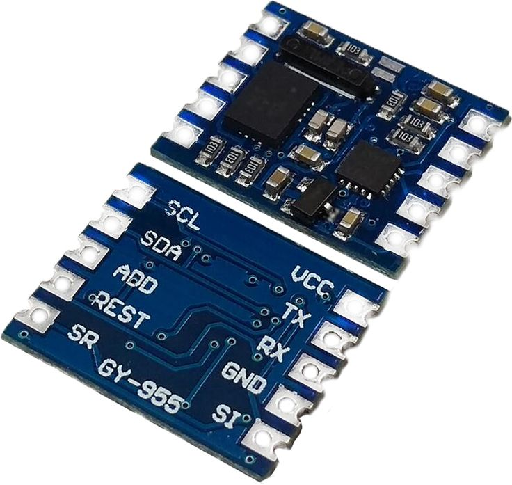 1pcs GY-955 high-precision high-performance Kalman filter AHRS sensor nine-axis navigation module