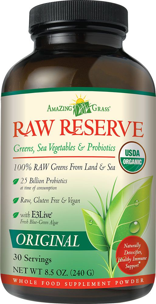 Amazing Grass Green SuperFood® Raw Reserve Drink Powder Unflavored <-- THE best green powder! Love this stuff, I add it to my smoothies.